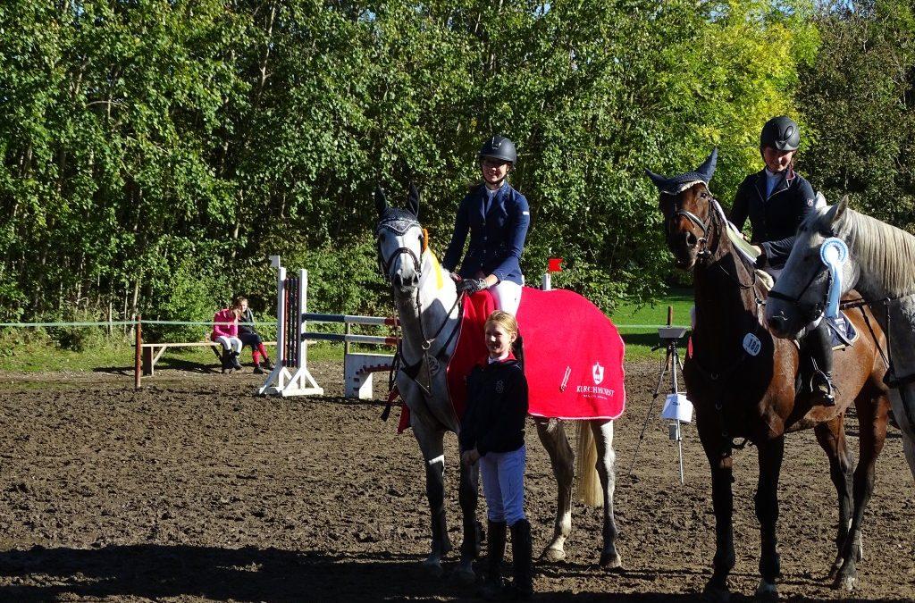 HS-Challenge 08.10.17 Sieger Prfg Nr. 8 Luisa Westphal u. Coralle CR
