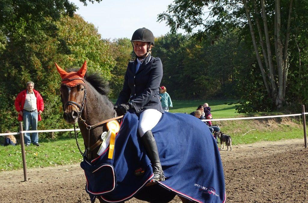 HS- PJF Sieger Prüfung Nr. 2 Vivien Beil + Norbert