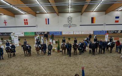 Länder Jugend-Championat Elmshorn 24. + 25. November 2018  – Sieger der Prüfungen
