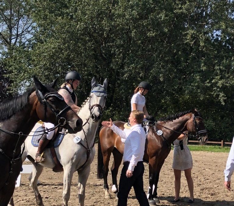 Bemerkungen Holsteiner Schaufenster Jugendförderung Finalqualifikationen HS-Challenge, Hof Kirchhorst am 31.08.-01.09.2019