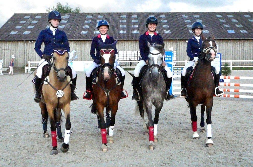 Team-Holsteiner Schaufenster macht 3. Platz beim Mannschaftsspringen Kl. A* in Ladelund